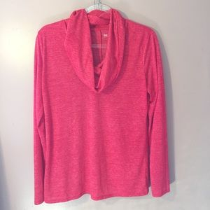 GAP RED COWL NECK TOP